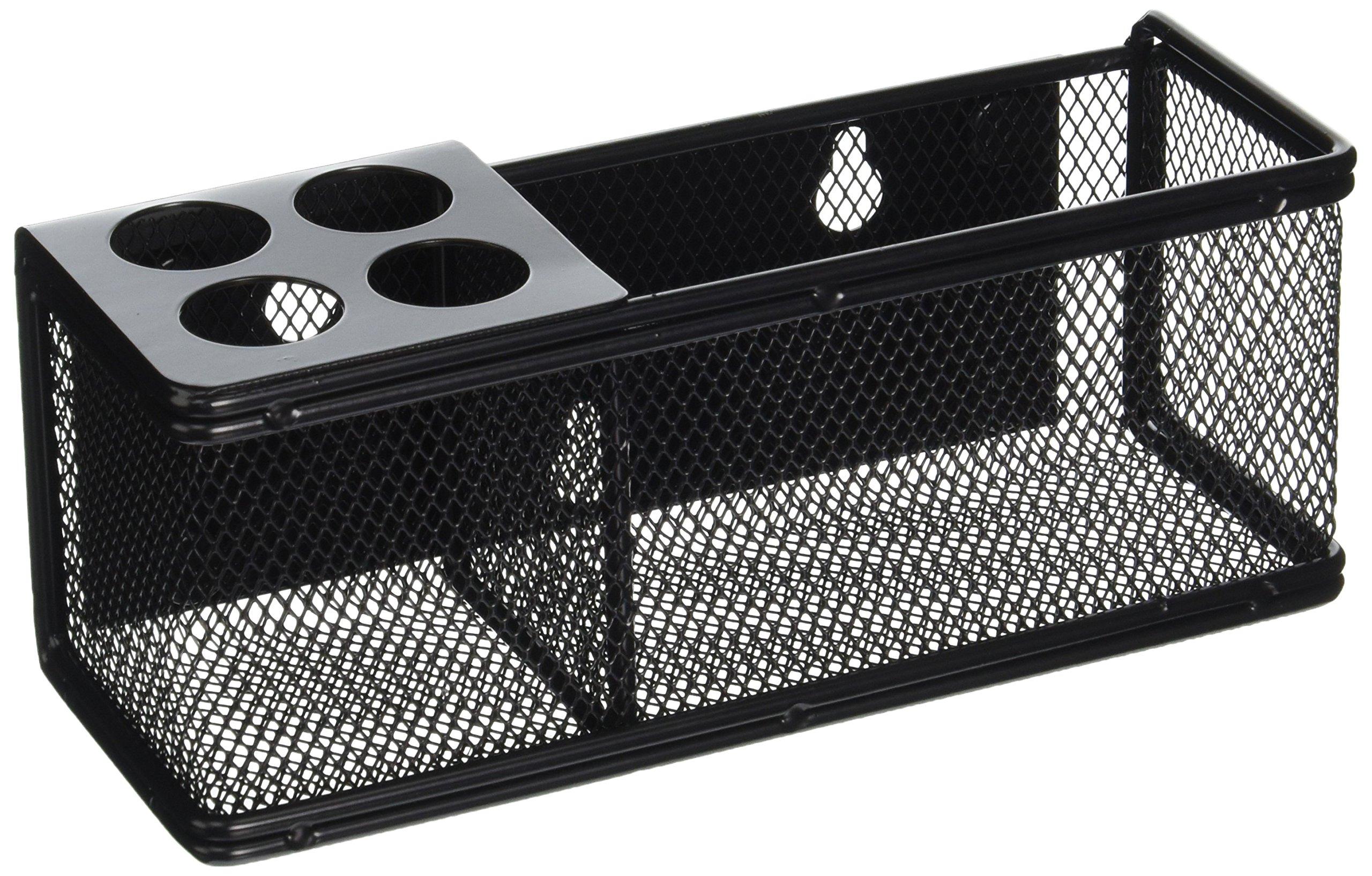 Safco Products 3612BL Onyx Mesh Marker Organizer Basket, Black