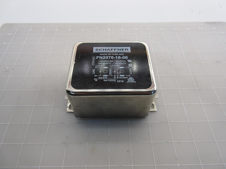 SCHAFFNER FN2070-10-06 EMI POWER LINE FILTER 734UA 10A