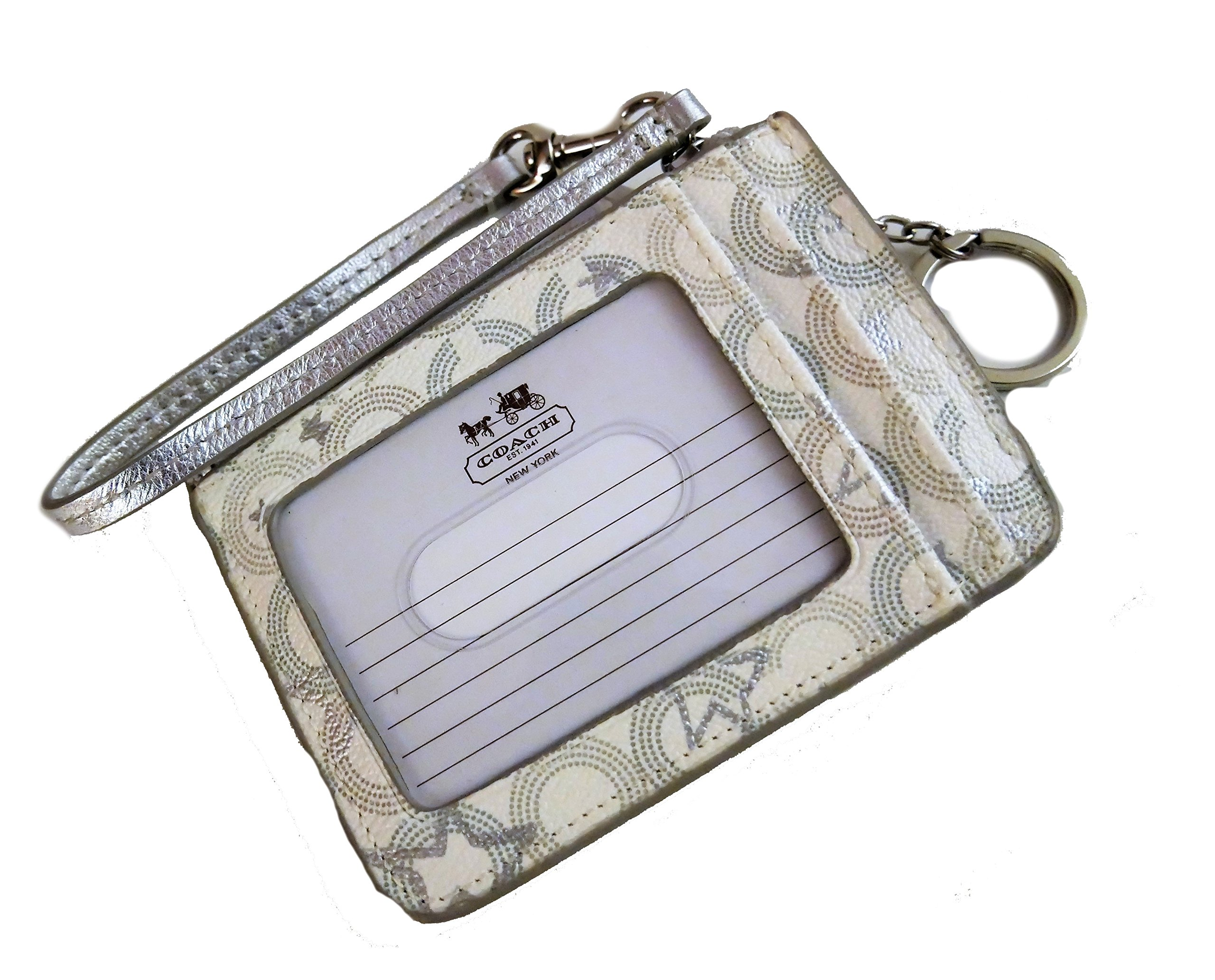 Coach Peyton Snow Queen Print ID's Card Case Keyring Holder by COACH (Image #3)