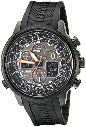Citizen JY8035-04E - Reloj para Hombres, Correa de Goma Color Negro: Citizen: Amazon.es: Relojes