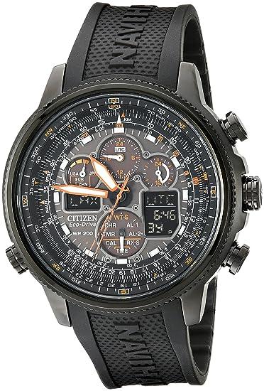 0b0104d514d1 Amazon.com  Citizen Men s Eco-Drive Navihawk Atomic Timekeeping Watch