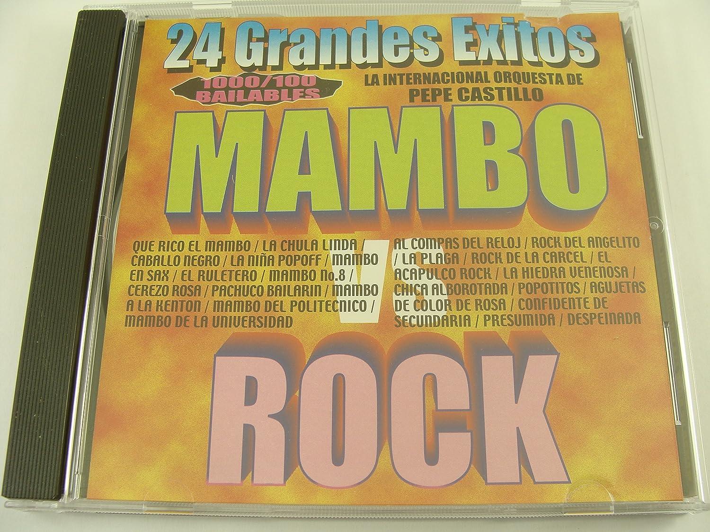 Pepe Castillo - 24 Grandes Exitos: Mambo Vs Rock La Internacional Orquesta de Pepe Castillo - Amazon.com Music