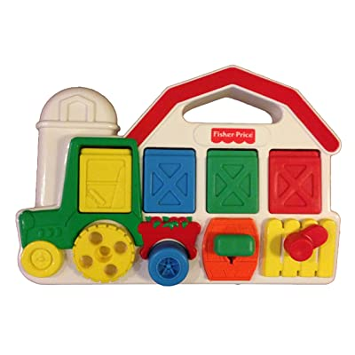 Fisher Price Barn Animals Pop up Toy: Toys & Games