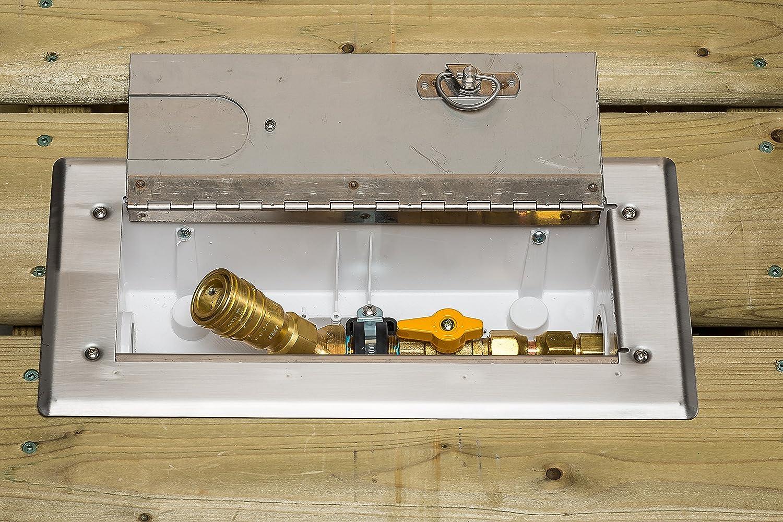 Amazon.com: Burnaby fabricación vgp-wd-50 cubierta de madera ...