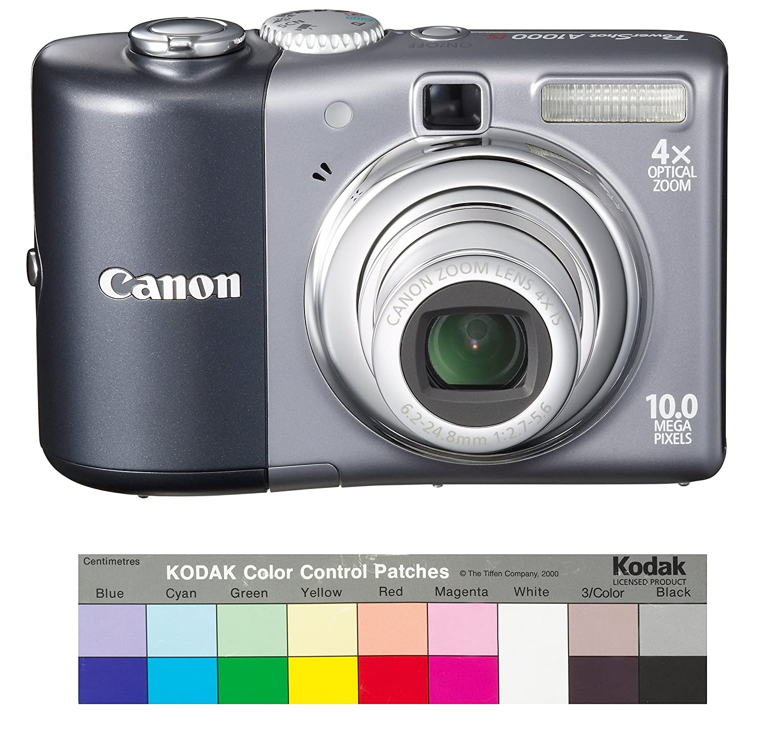 Amazon.com : Canon Powershot A1000IS 10MP Digital Camera with 4x Optical  Image Stabilized Zoom (Grey) : Point And Shoot Digital Cameras : Camera &  Photo
