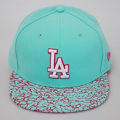 niesamowita cena Nowe Produkty gładki New Era 59fifty LA Dodgers Crackle Visor Mint Green Flat ...