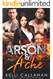 Arson & Ache: A MFM Firefighter Romance (Surrender to Them Book 8)