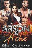 Arson & Ache: A MFM Firefighter Romance (Surrender to Them Book 8) (English Edition)