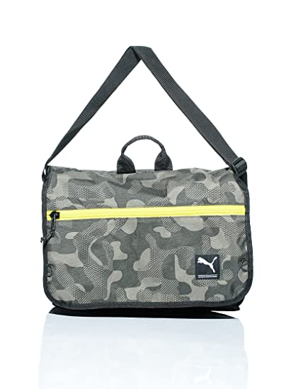 bb6098f15 Puma Bolsa Foundation Shoulder Bag Verde Única: Amazon.es: Deportes ...