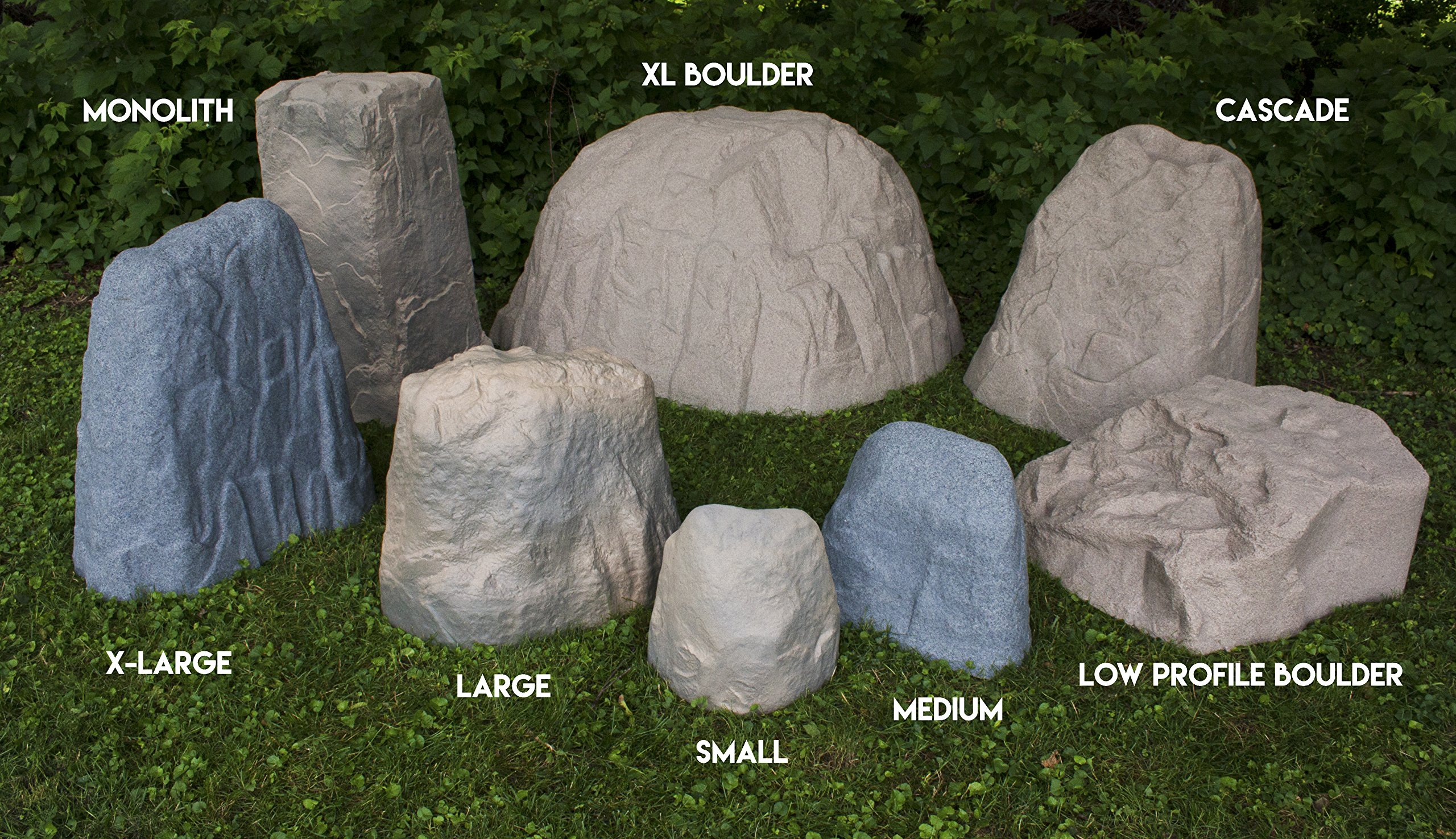 EMSCO Group Landscape Rock – Natural Granite Appearance – Low Profile Boulder – Lightweight – Easy to Install by Emsco Group (Image #7)