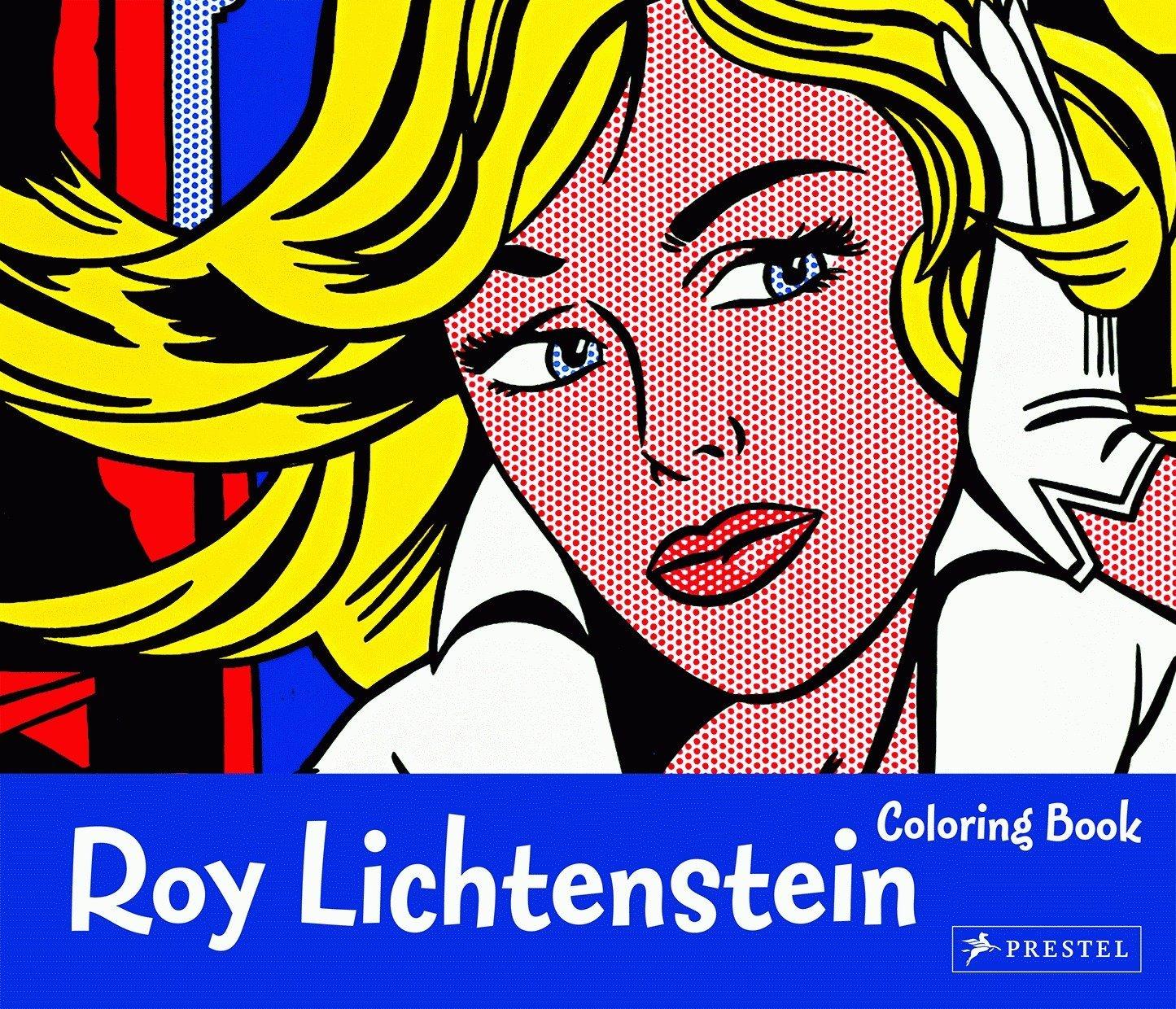 Roy Lichtenstein Coloring Book PDF