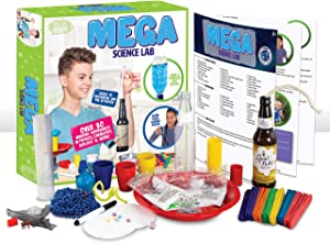 Be Amazing! Toys MEGA Science Lab   STEM Experiment Kit for Kids Age 8-12   Over 30 Activities in Chemistry, Physics and Biology (2361)