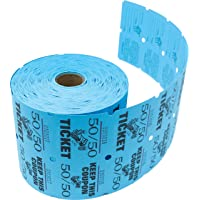 Tacticai Raffle Tickets (8 Colors Available) for Events, Entry, Admittance, or Fundraising, Tear Away Tickets, Brightly…