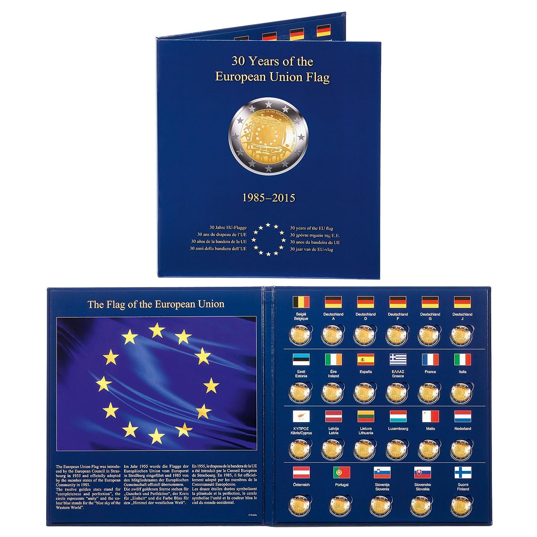 de 2/€ 30/º aniv de la Bandera de la UE PRESSO para 23 monedas conmemorativas europ /Álb