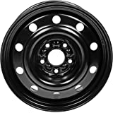 "Dorman 939-243 Steel Wheel for Select Chrysler/Dodge Models (17x6.5""/5x127mm), Black"