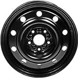 Dorman 939-243 Steel Wheel for Select Chrysler/Dodge Models (17x6.5'/5x127mm), Black