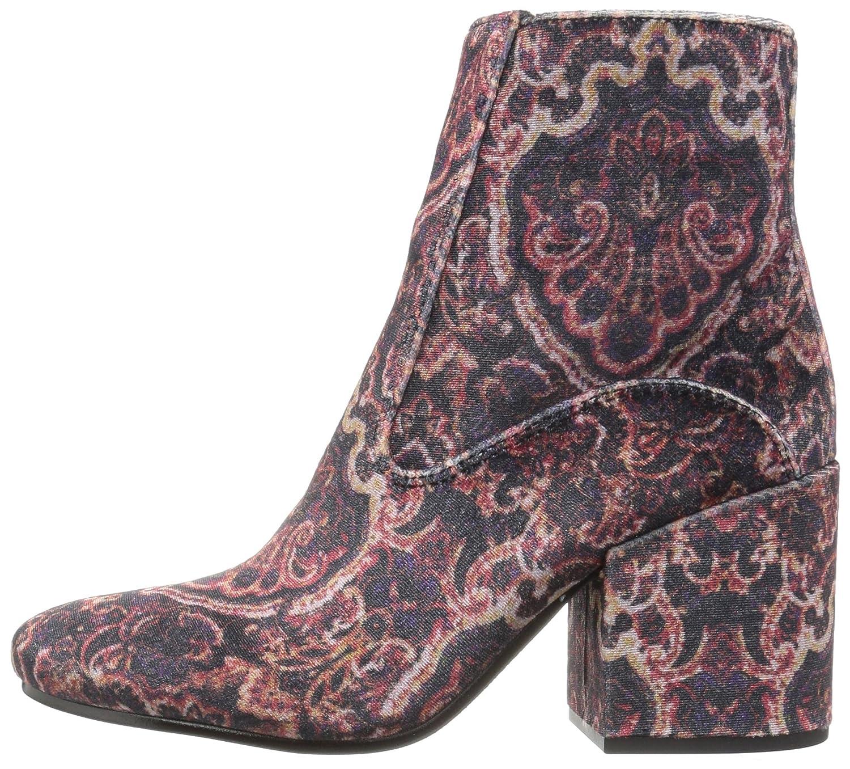 Lucky Brand Women's M Rainns Ankle Boot B01N4GBIVE 9 M Women's US|Black Multi 662752