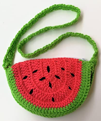 Cute Easter Baskets Watermelon Purse Bag Handbags Pouch With Inner Mothers Day Gift Birthday Gifts For Adult Women Girls Sister Wife Daughter