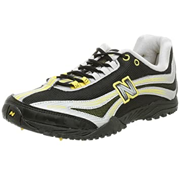 3f9aa77a5e191 Amazon.com: New Balance Men's RX505R Spikeless Flat,Black/Yellow ...
