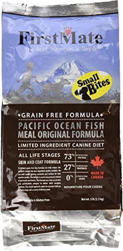 Firstmate Pet Foods Pacific Ocean Fish Small Bites For Pets, 5-Pound