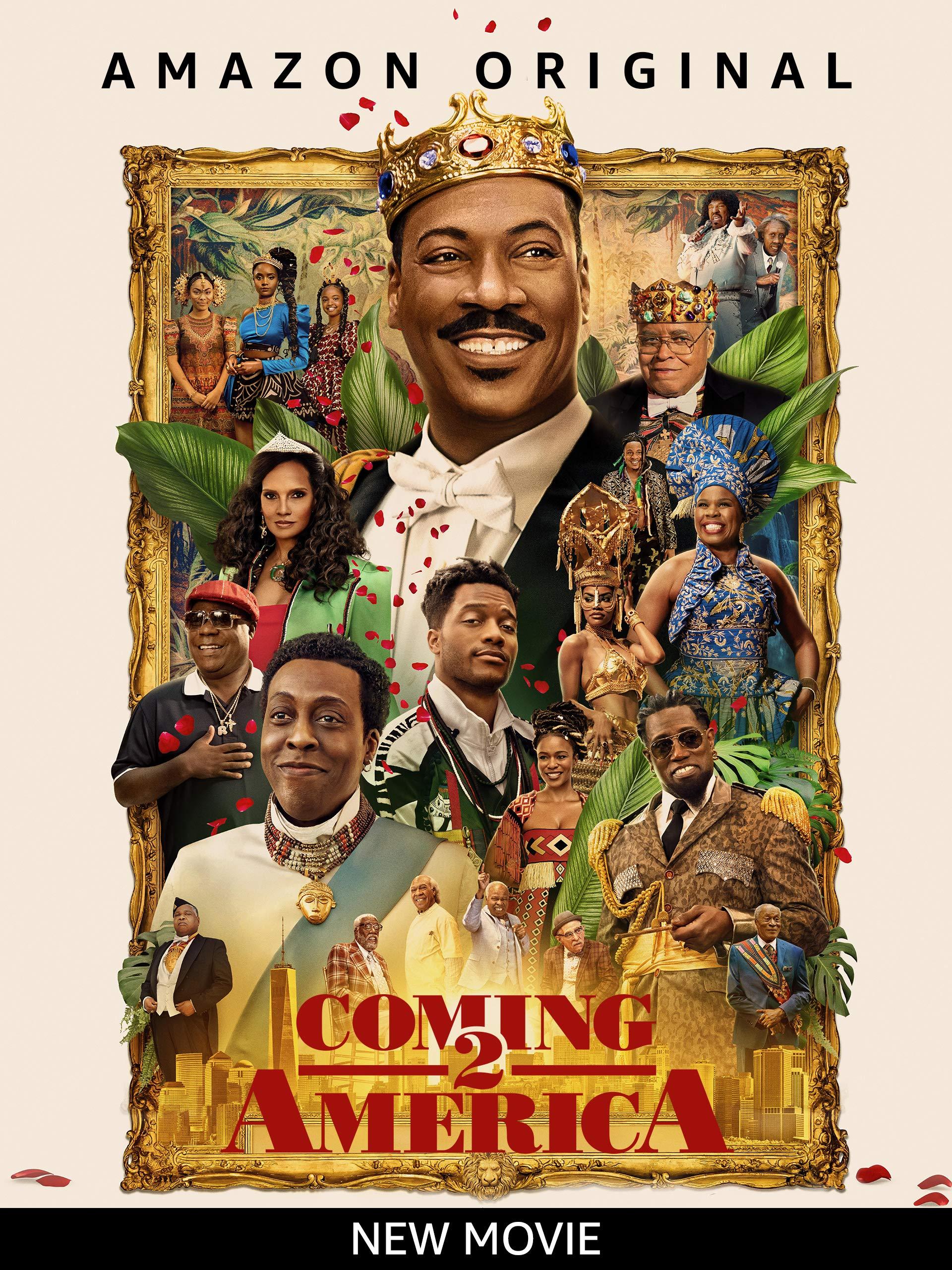 Coming 2 America on Amazon Prime Video UK