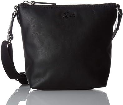 ee5dd29ee2 Lacoste femme Nf2584ir Sac bandouliere Noir (Black): Amazon.fr ...