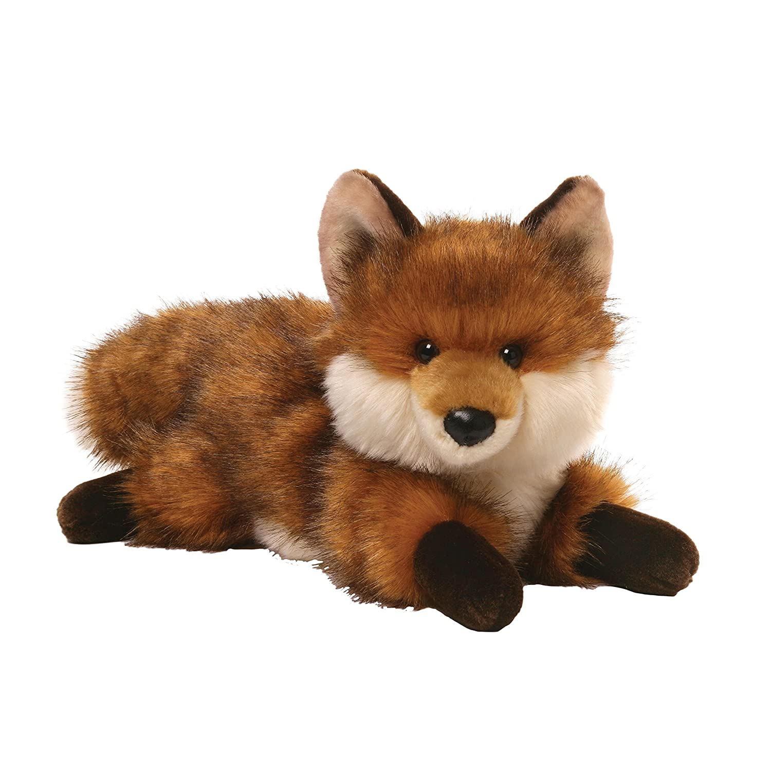 amazon com gund rocco fox stuffed animal plush toys u0026 games