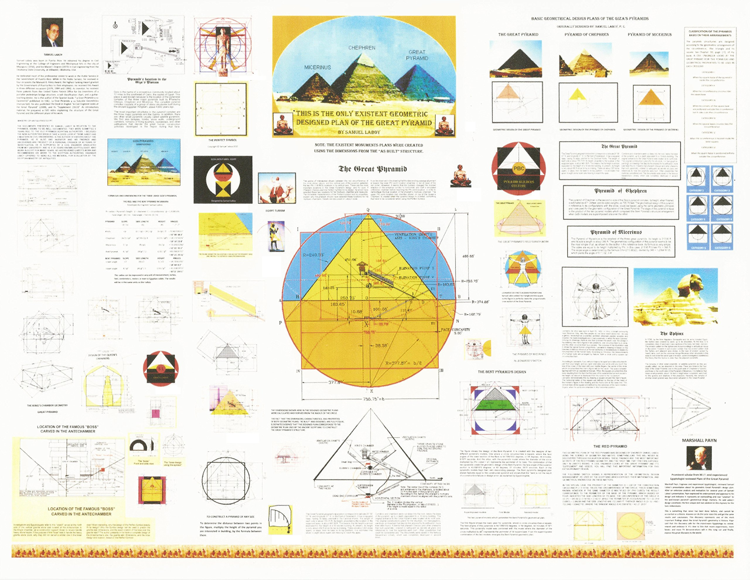 The only geometric designed plan of The Great Pyramid / with free Introduction DVD