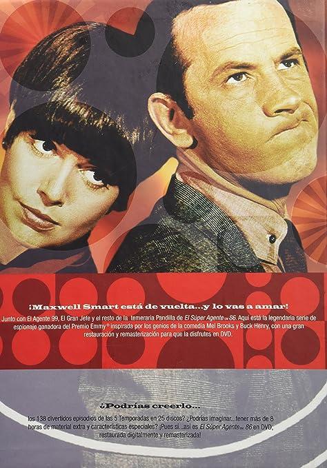 Amazon Com El Super Agente 86 La Serie Completa Region 1 Y 4 25 Dvds Cine Y Tv