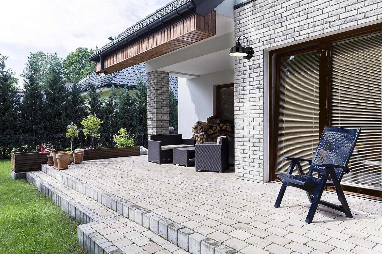 Design House 579367 Mason 1 Indoor//Outdoor Wall Light Black 10.5,