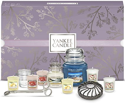 Yankee Candle Gift Set Box Including Candles And Accessories Of 11 Amazoncouk Kitchen Home