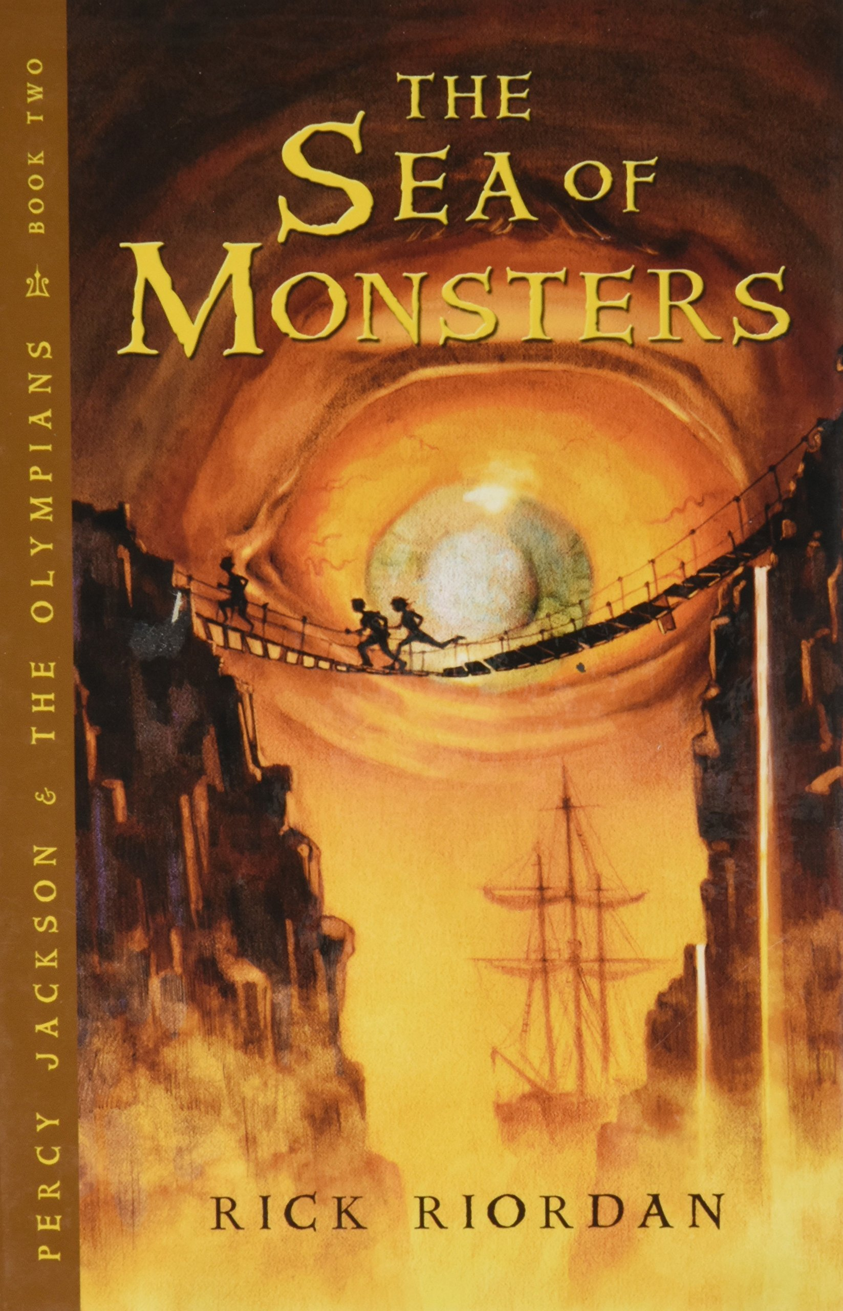 The Sea of Monsters: 2 Percy Jackson and the Olympians - Thorndike Press Large Print The Literacy Bridge Young Adult: Amazon.es: Riordan, Rick: Libros en idiomas extranjeros