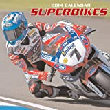 2014 Calendar: Superbikes: 12-Month Calendar Featuring Spectacular Photographs of Superbikes on the Track