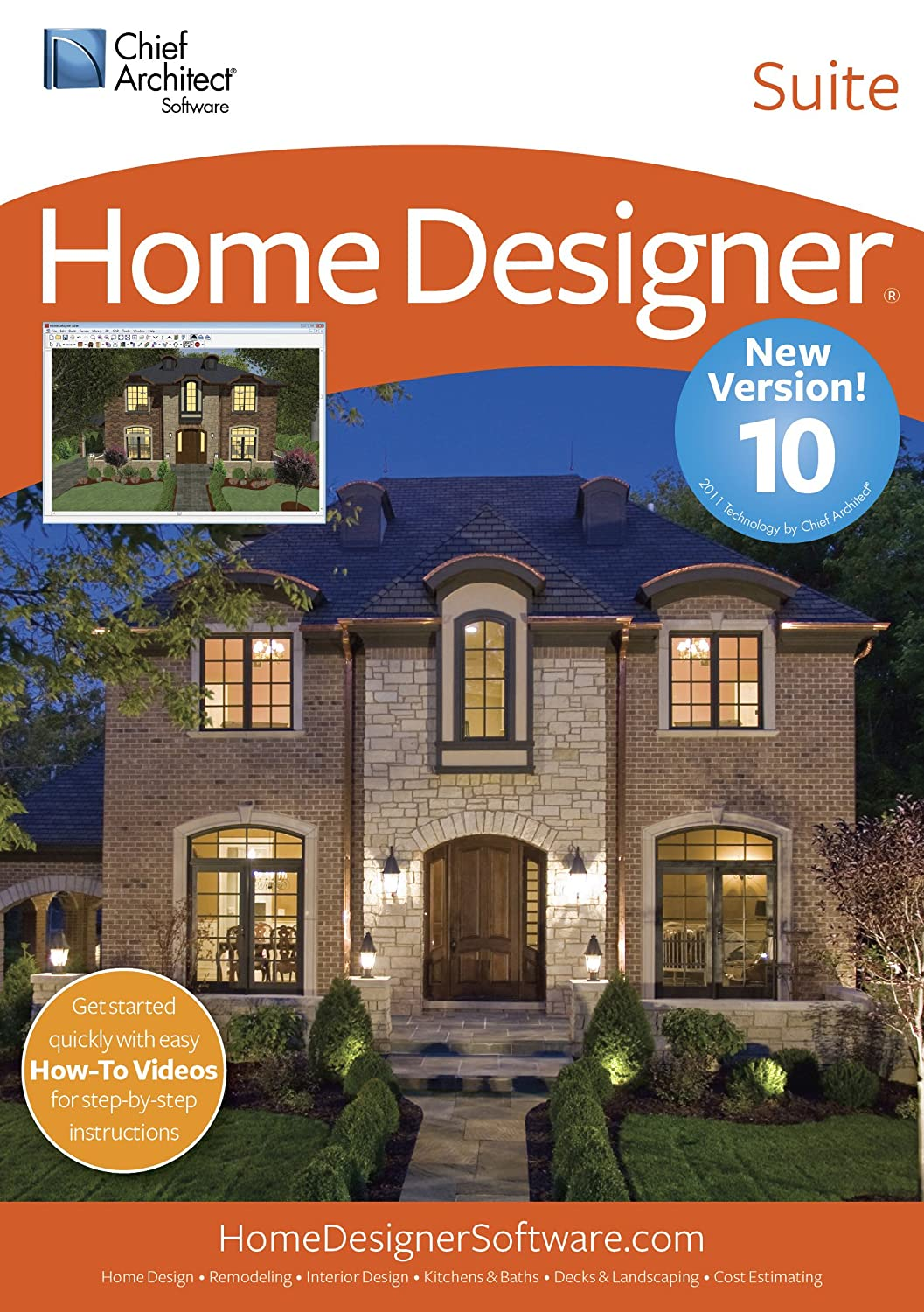 Amazon.com: Chief Architect Home Designer Suite 10 [Download]: Software