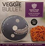 Veggie Bullet Shoestring 5 mm Fry Blade Slicer In Case