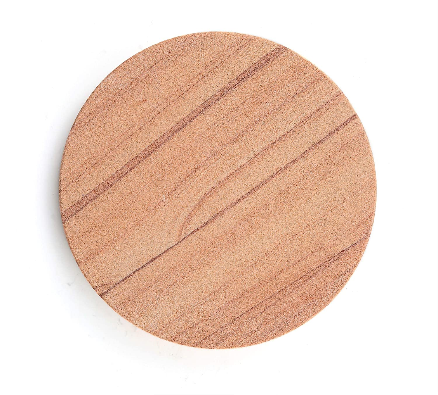 Thirstystone Brand-Cinnabar, Multicolor All Natural Sandstone-Durable Stone with Varying Patterns, Every Coaster is an Original, 4 inches