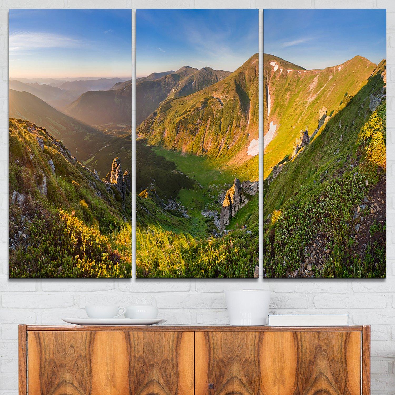 Karpaty Highrise Mountains Landscape Photo on Canvas Art Wall Photgraphy Artwork Print