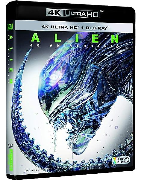 Alien 4k Uhd [Blu-ray]: Amazon.es: Sigourney Weaver, Tom Skerritt, John Hurt, Ridley Scott, Sigourney Weaver, Tom Skerritt: Cine y Series TV