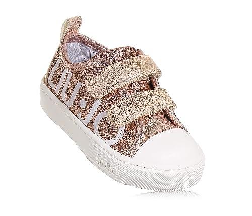 GlitterataBambina Ecopelle DoratoIn Rosa Jo Liu Sneaker J1TlFKc3