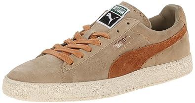 cheap for discount 0eecb eec69 PUMA Men's Suede Classic Natural Calm Casual Sneaker