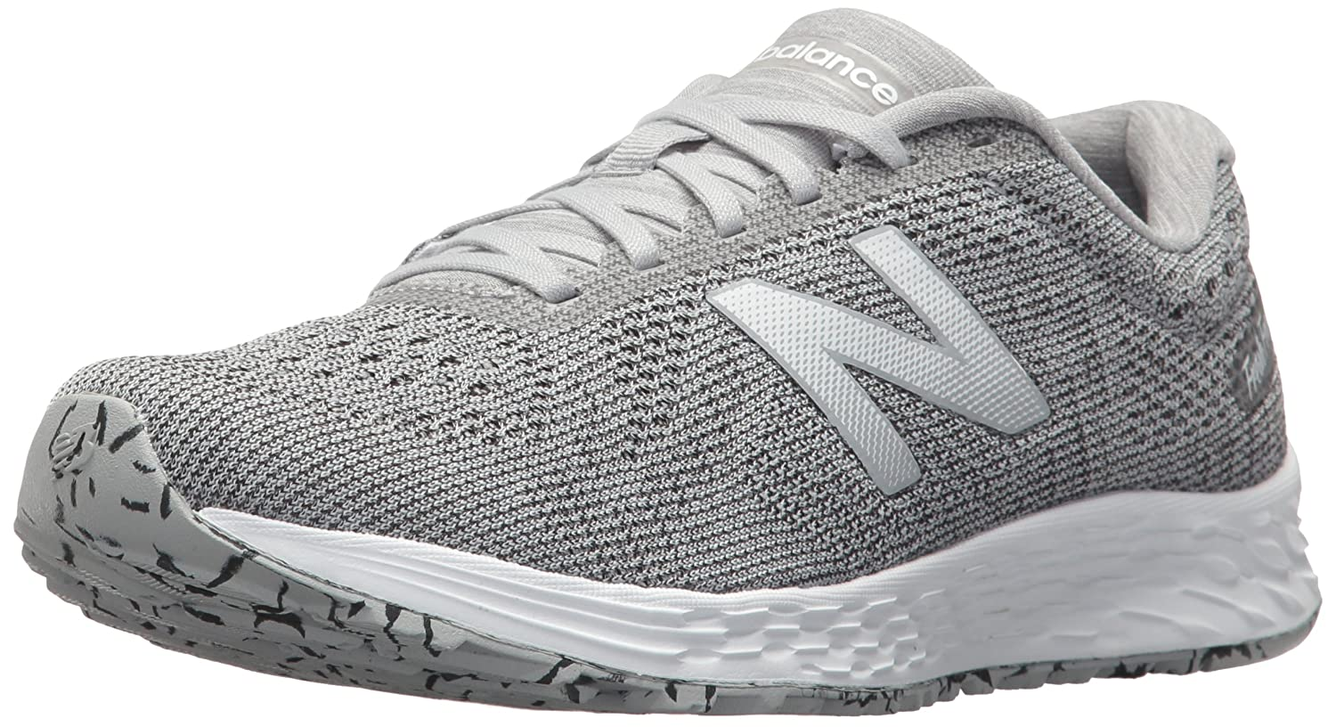 New Balance Women's Fresh Foam Arishi V1 Running Shoe B01MS13BEC 8 D US|Light Grey/White