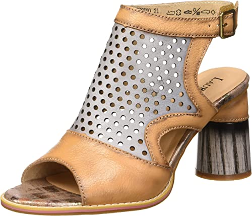 LAURA VITA Alcbaneo 049, Sandales Bout Ouvert Femme: Amazon