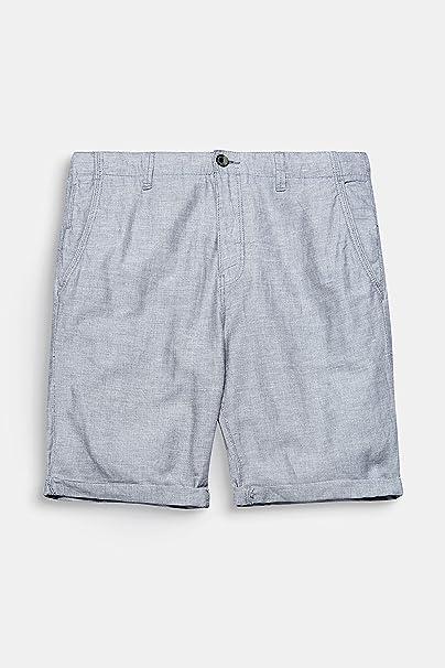ESPRIT Collection Herren 048EO2C002 Shorts, Blau (Navy 400