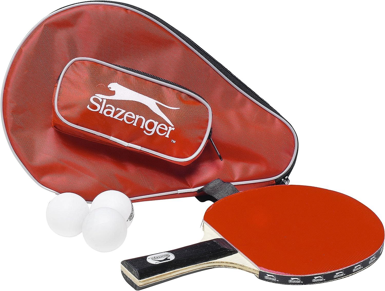 Slazenger - Palo de tenis de mesa con 3 balletjes