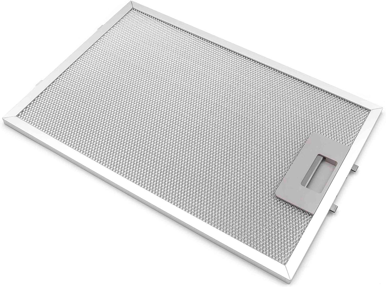 vhbw Filtro para grasa de metal de repuesto para campana extractora reemplaza BSH Group 00362380: Amazon.es: Grandes electrodomésticos