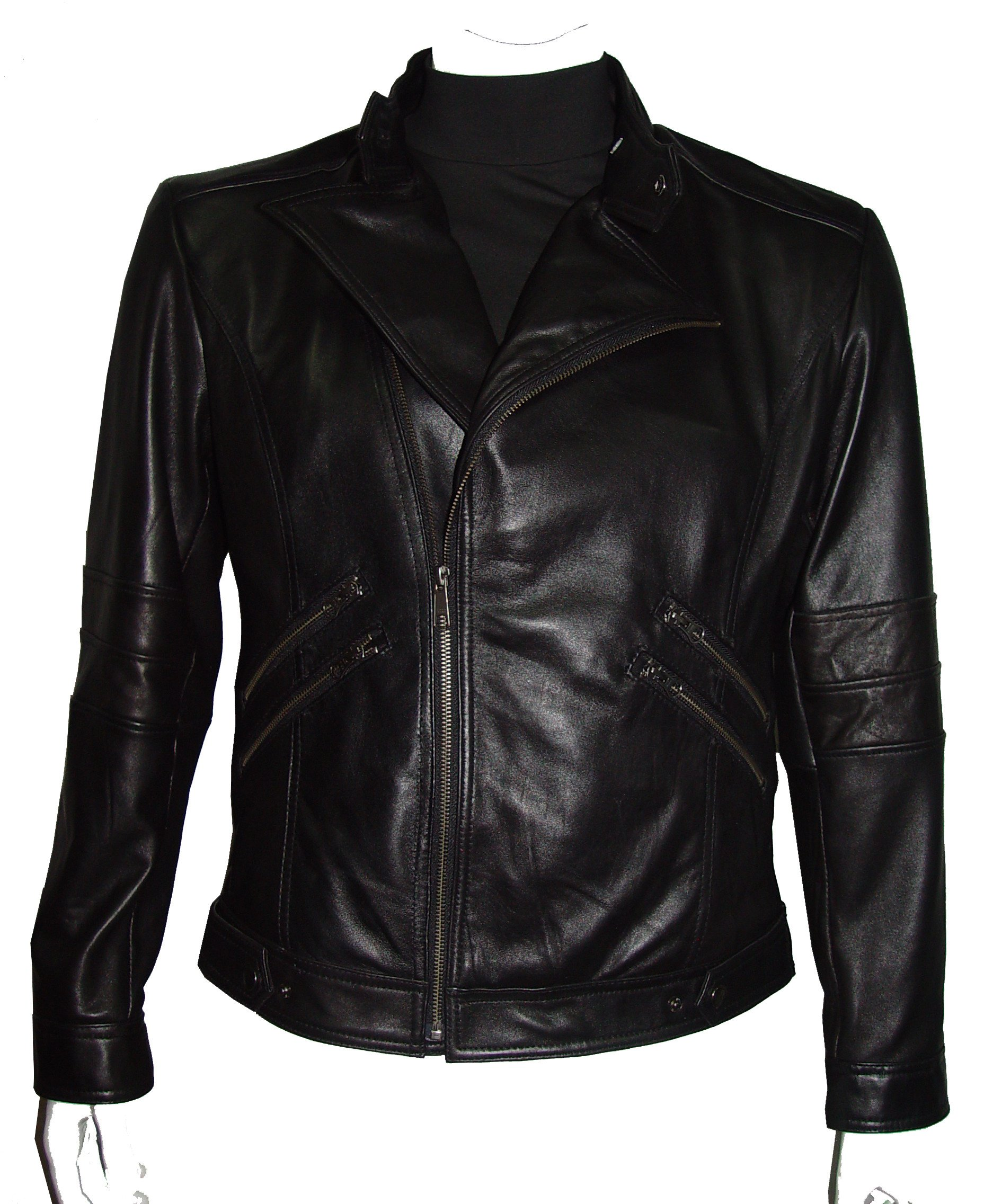 Nettailor Tall Big Man 1078 BIG TALL Size 4 Season Leather Jacket Zip Out