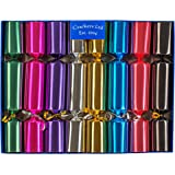 Sale 12 white make fill your own cracker boards amazon fill your own christmas crackers box of 8 crackers in metallic colours solutioingenieria Image collections