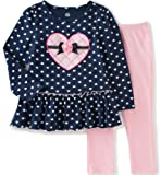 Amazon Price History for:Kids Headquarters Baby Girls' Printed Jersey Tunic with Leggings Set