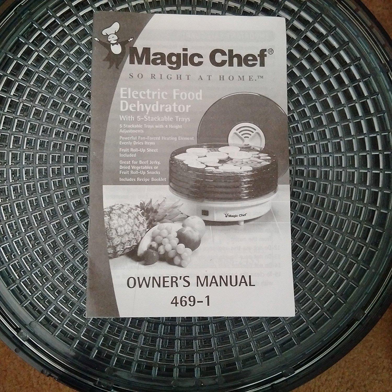 MAGIC CHEF ELECTRIC FOOD DEHYDRATOR 469-1