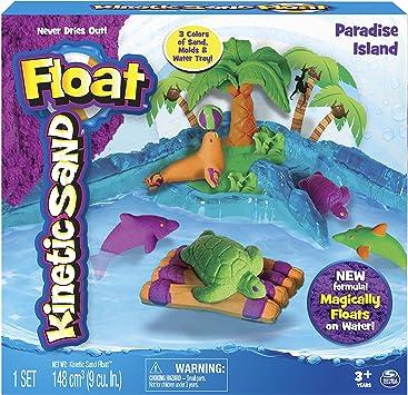 Kinetic Sand Float, Paradise Island: Amazon.es: Juguetes y juegos